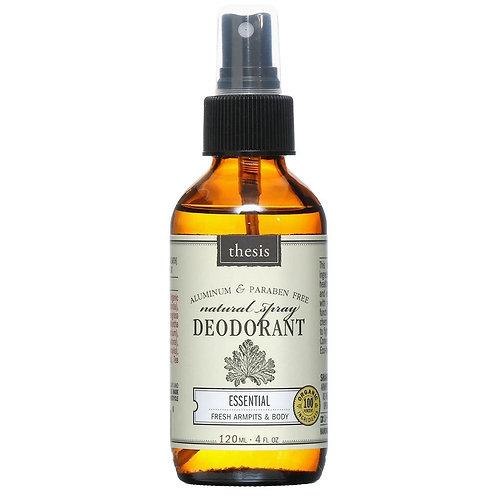 Thesis Natural Deodorant
