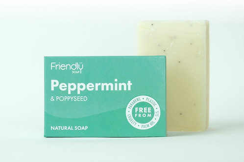 Friendly Soap - Peppermint & Poppy Seed