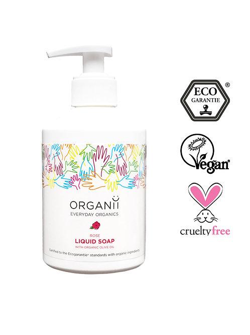 Organii Liquid Soap 300ml - Rose