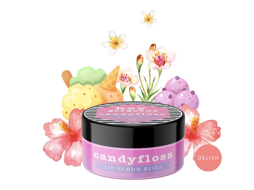 Hey Gorgeous Candy Floss Lip Scrub