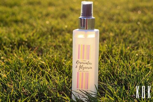 Kokoa Organic Rosewater & Glycerin Facial Spritz 100ml