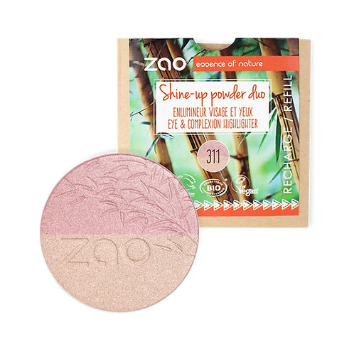 Zao Duo Shine-Up Powder Refill (311)