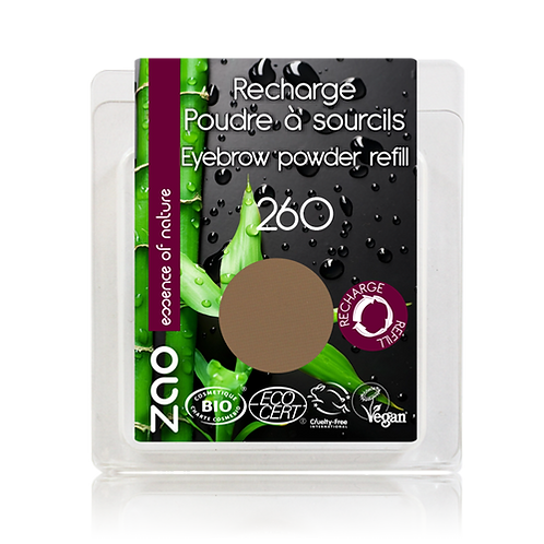 Zao Eyebrow Powder Refill - Blonde (260)