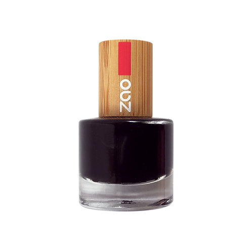 Zao '10' Free Nail Polish - Black (644)
