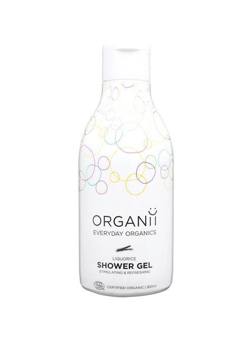 Organii Organic Liquorice Shower Gel 300ml
