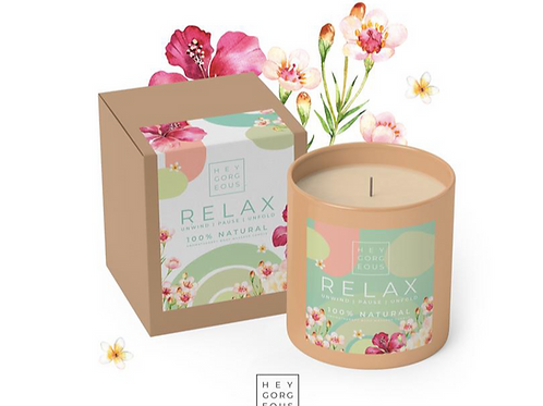 Relax Massage Candle by Hey Gorgeous