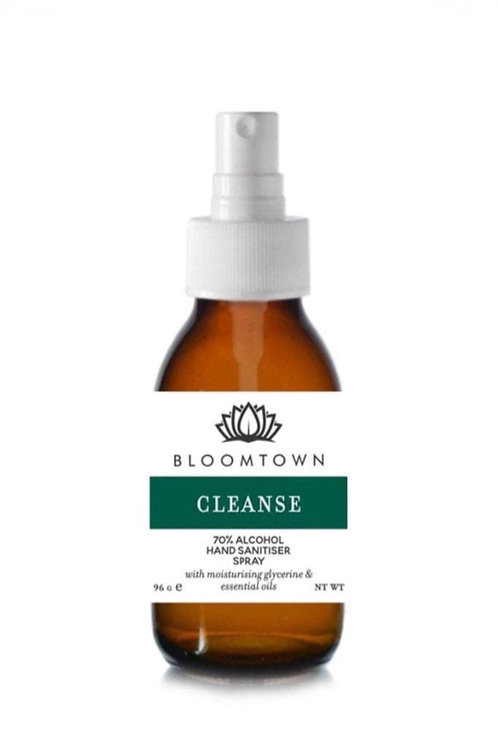 Bloomtown 70% Alcohol Hand Sanitiser Spray Natural & Organic 100ml