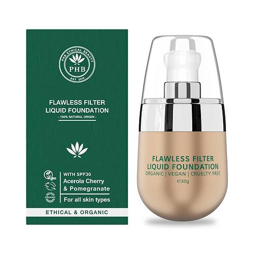 PHB Flawless Filter Liquid Foundation+ SPF30 - 6 shades