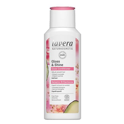 Lavera Gloss & Shine Organic Conditioner - 200ml - For Dull Hair