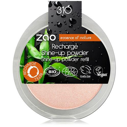 Refill - Zao Shine-Up Powder - Pink Champagne
