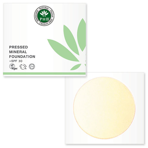 PHB Pressed Mineral Foundation Spf 30 - Porcelain