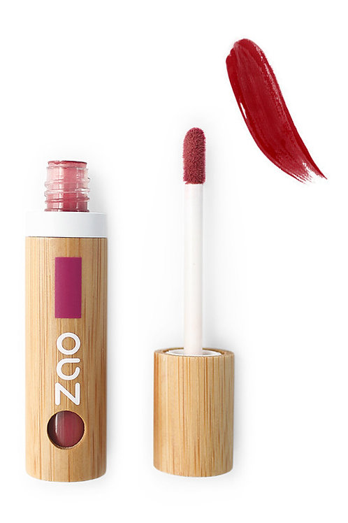 Zao Organic Refillable Lip Polish - Red Cherry (036)