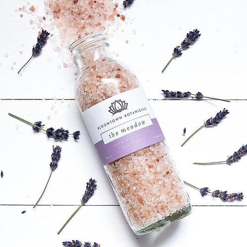 Bloomtown Pink Himalayan Salt Soak - The Meadow (Lavender & Rose Geranium)