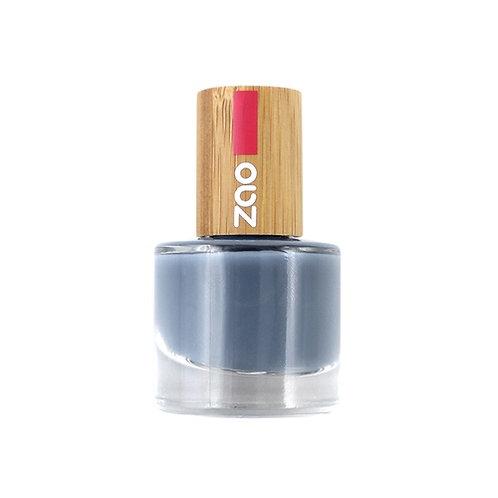 Zao Nail Polish - Blue Grey (670)