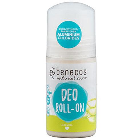 Benecos Deo Roll-On - Aloe Vera - 50ml