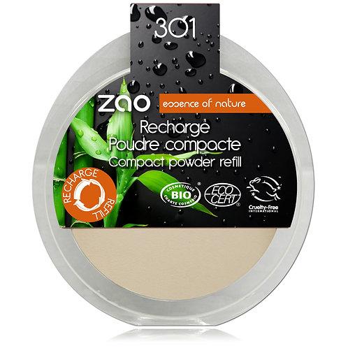 Refill Zao Compact Powder - Ivory 301