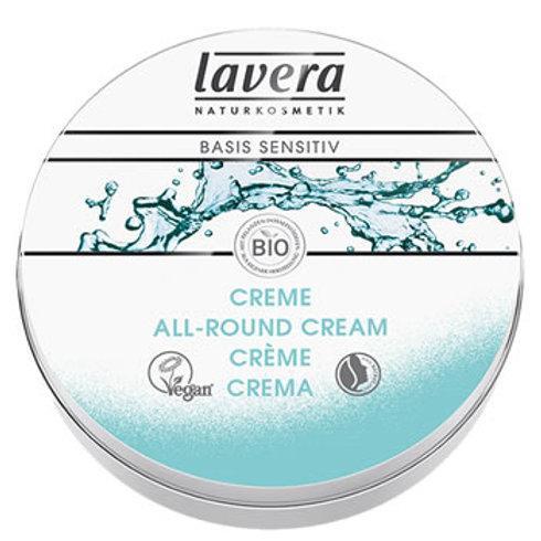 Lavera Basis Sensitive Organic All Round Cream 25ml - For all skin type