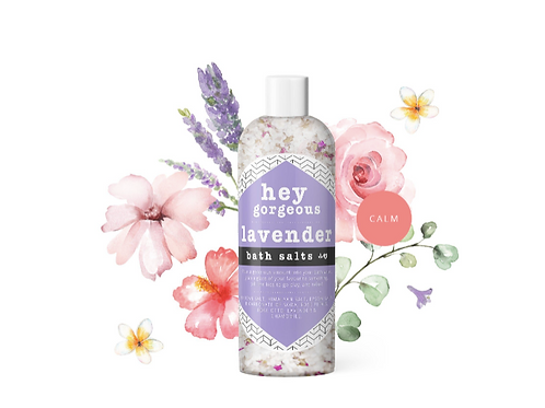 Hey Gorgeous Lavender Bath Salts