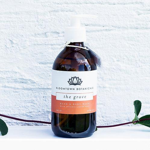 Bloomtown Botanicals Organic Hand & Body Wash 300ml - The Grove