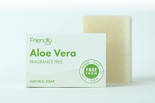 Friendly Soap Fragrance Free - Aloe Vera