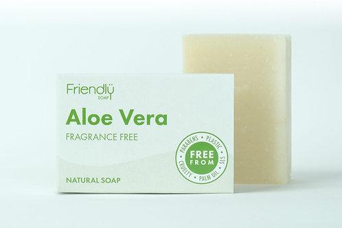 Friendly Soap Fragrance Free - Aloe Vera