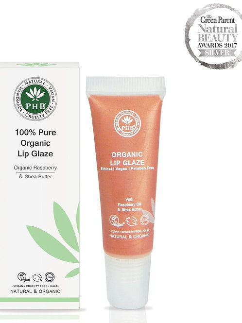 PHB Ethical 100% Pure Organic Lip Glaze - Peach