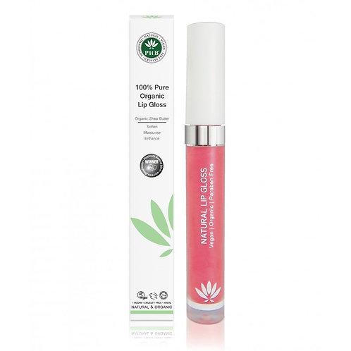 PHB 100% Pure Organic Lip Gloss - Camellia
