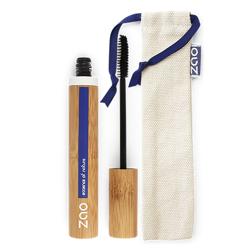 Zao Aloe Vera Refillable Mascara - Dark Brown (091)