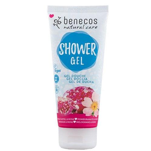 Benecos Pomegranate & Rose Shower Gel 200ml