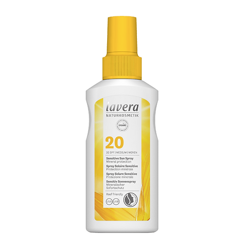 Lavera Sensitive Sun Spray SPF 20 - 100ml