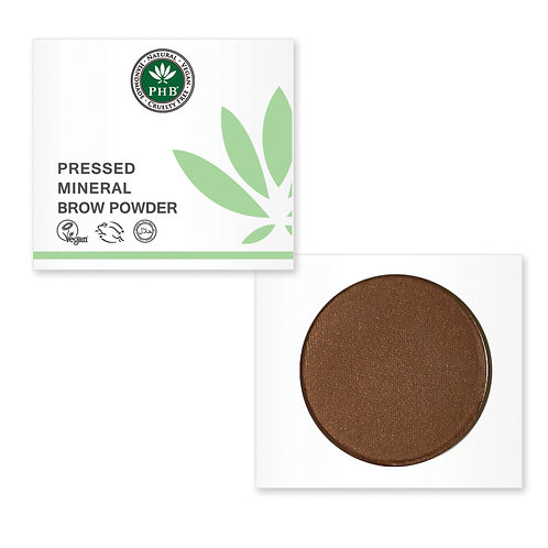 PHB Ethical Pressed Mineral Brow Powder - Brunette