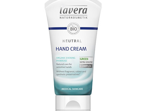 Lavera Neutral Hand Cream For Sensitive Skin - 50m