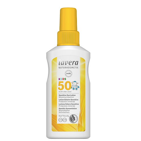 Lavera Kids SPF50 Sensitive Sun Lotion - 100ml