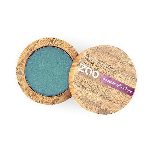 Zao Pearly Eyeshadow - New Peacock Blue (127)