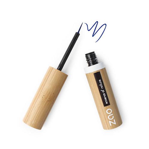 Zao Refillable Liquid Eyeliner - Electric Blue (072)