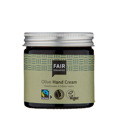 FAIR SQUARED Hand Cream Olive Zero Waste 50ml