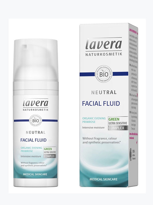 Lavera Neutral Facial Fluid - 50ml - For very sensitive and allergy prone skin