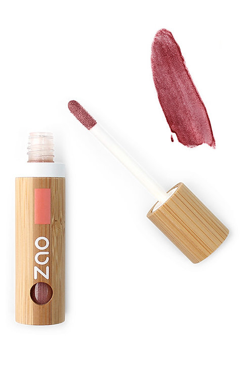 Zao Organic Vegan Lipgloss - Glam Brown (015)