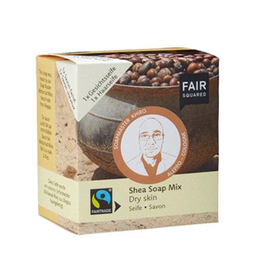FAIR SQUARED Body Soap Shea Dry Shea 2 x 80g