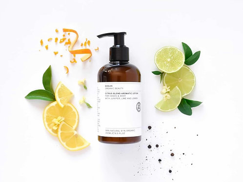 Evolve Citrus Blend Aromatic Hand & Body Lotion