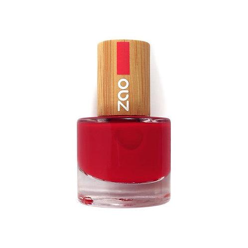 Zao Nail Polish - Classic Red (650)