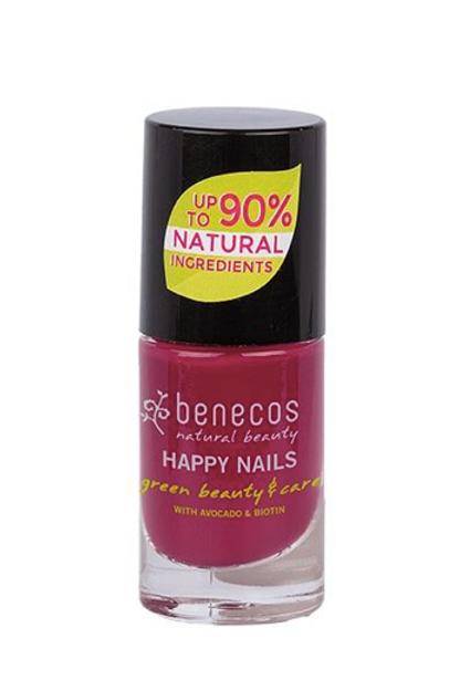 Benecos Happy Nails Nail Polish - Vintage Red