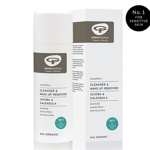 Green People SCENT FREE CLEANSER & MAKE-UP REMOVER 150ML