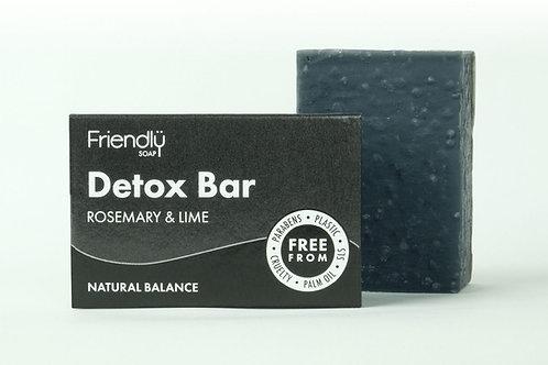 Friendly Soap Charcoal Detox Bar