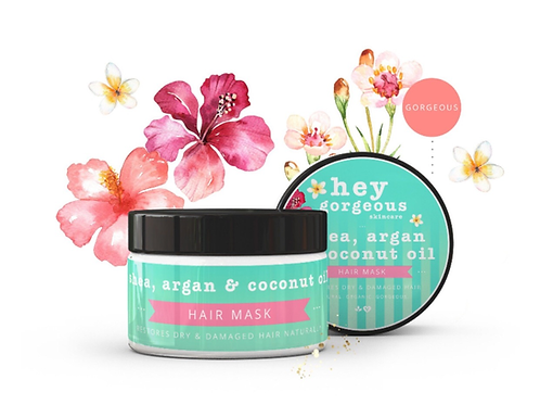SHEA, ARGAN & COCONUT OIL HAIR MASK