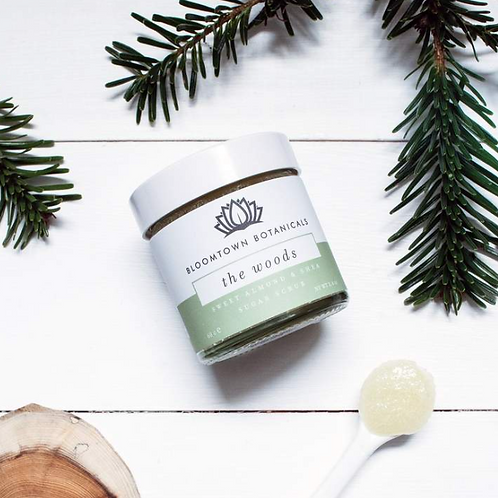 Bloomtown Exfoliating & Moisturising Sugar Scrub: The Woods
