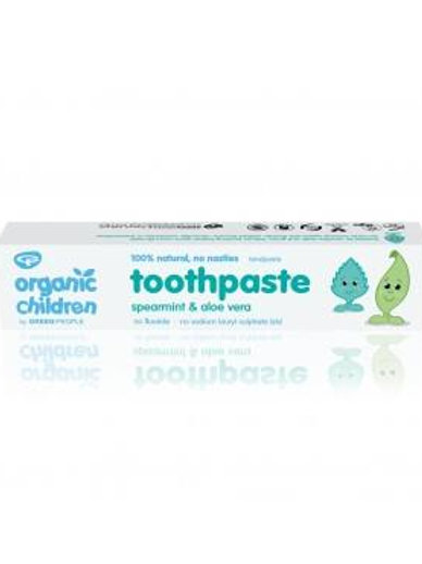 Green People Organic Children's Toothpaste with Spearmint & Aloe Vera 50ml