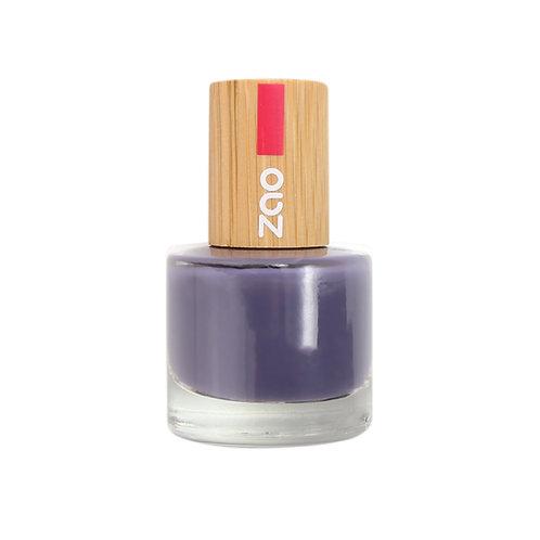 Zao '10' Free Nail Polish - Purple Grey (673)