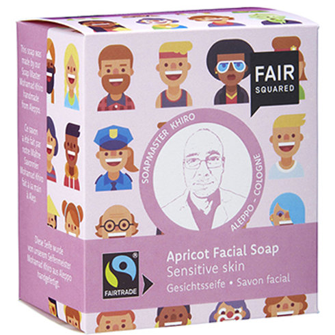 Fair Squared Apricot Facial Soap - Sensitive Skin - 2 x 80g