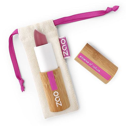 Zao Vegan Soft Touch Lipstick - Nude Pinky Plum (431)